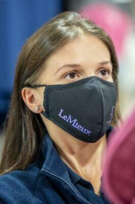 LeMieux PPE Reusable Face Mask With One Filter • 7.99£