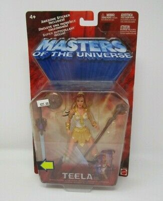 $48.49 • Buy Teela 2002 200x MASTERS OF THE UNIVERSE MOTU Mattel MOC