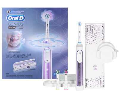 AU180 • Buy Oral B Genius 9000 Purple Orchid Electric Toothbrush - Powered By Braun
