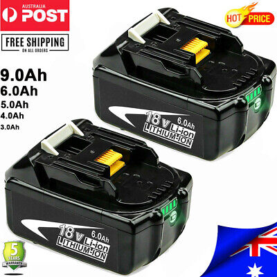 AU117.99 • Buy For Makita 18V 9.0Ah BL1860B LED Battery LXT400 BL1830B BL1850B Lithium Tools AU