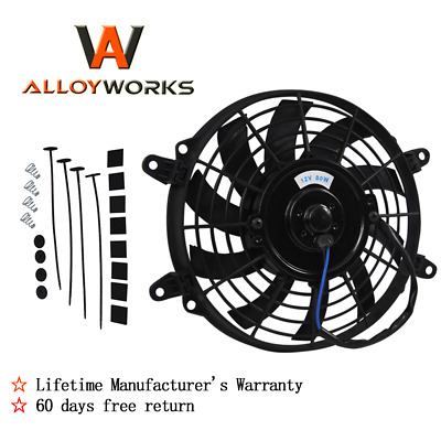 AU39 • Buy 9'' Inch Thermo Fan Mounting Pull Push Puller Electric Intercooler Radiator 12V