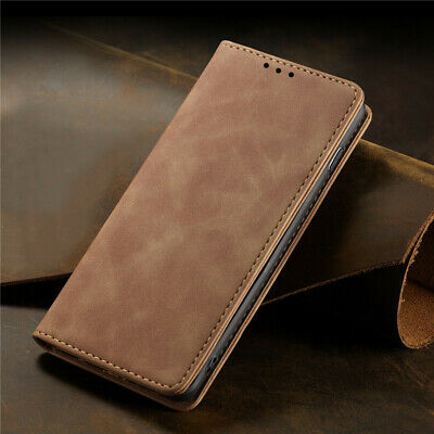 $ CDN8.85 • Buy For Samsung Galaxy Note 10 Plus 9 8 Magnetic Flip Leather Wallet Case Cover