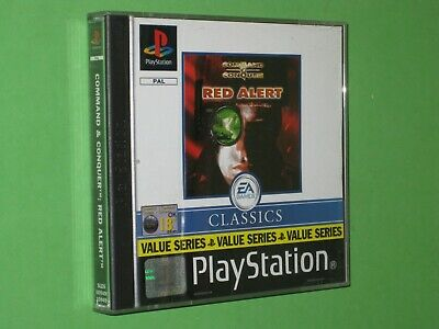 AU49.95 • Buy Command & Conquer : Red Alert - PlayStation 1 Game - PAL Version