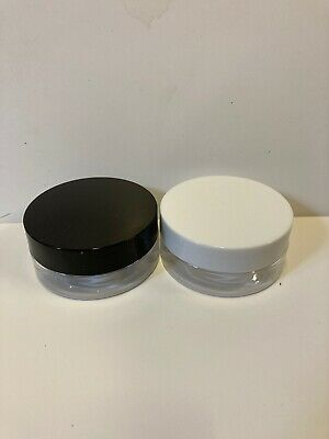 £13.95 • Buy 50ml 100ml 150ml 250ml PET PLASTIC STORAGE JARS/CONTAINERS With LIDS