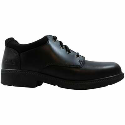 £15.91 • Buy Clark's Deaton Time TOD Black Leather 64151 Pre-School Size 12.5Y WXW