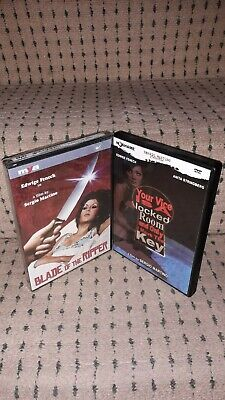 Blade Of The Ripper & Your Vice Is A Locked Room [Dvds Reg 0] Martino - Fenech  • 34£