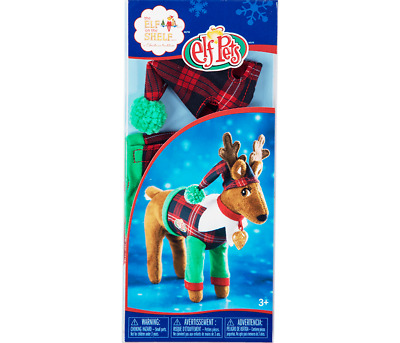 AU24.95 • Buy Elf On The Shelf Claus Couture Collection - Playful Reindeer PJ'S