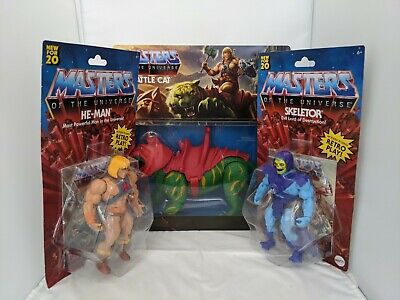 $89.99 • Buy Masters Of The Universe Origins Battle Cat, He Man And Skeletor