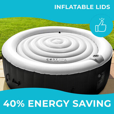 CosySpa Energy Saving Hot Tub Covers [2 SIZES] | ROUND OUTDOOR Jacuzzi Protector • 58.99£
