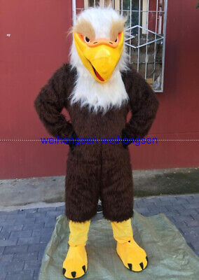 2020Eagle Mascot Costume Suits Cosplay Party Fursuit Outfits Clothing Ad Top Hot • 244.76£
