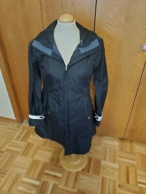 $ CDN350 • Buy Lululemon Size 6 Ride On Rain Coat Reflective Cuff Accents Jacket Black RARE