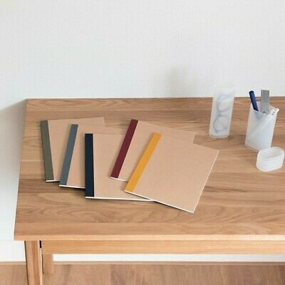 AU20 • Buy Brand New MUJI B5 Size 6mm Lined Notebook 5pc SET Stationary Office Study