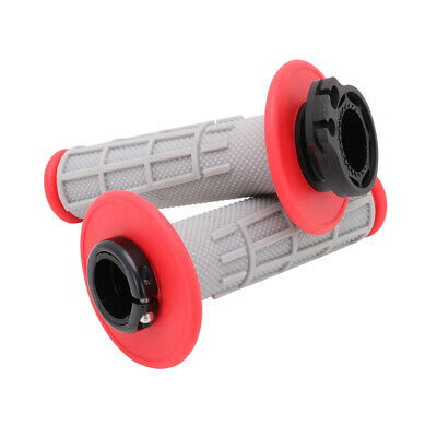 $19.72 • Buy Left Right Handlebar Lock-on Grips For CRF250R/X 04-17 CRF450R 02 CRF450X