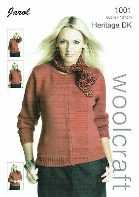 Jarol  Knitting Pattern  1001 Cardigan • 2.50£
