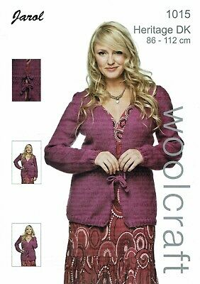 Jarol  Knitting Pattern 1015 Cardigan • 2.50£
