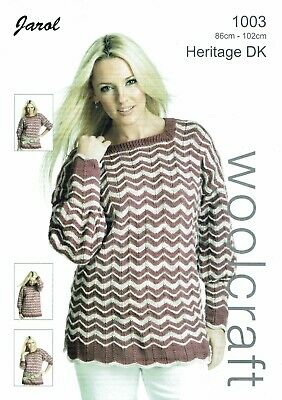 Jarol  Knitting Pattern 1003  Tunic • 2.50£