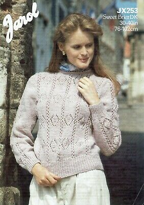 Jarol  Knitting Pattern 253   Sweater • 2.50£