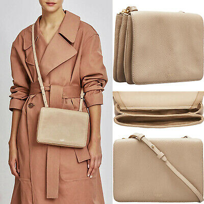 AU249.95 • Buy  NEW OROTON Byron Crossbody Bag Pebble Leather Brass Hardware Fawn Tag Dustbag