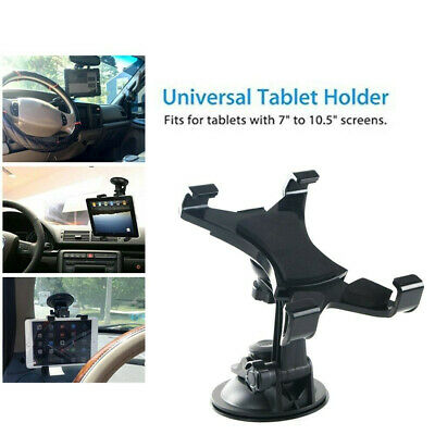 Universal In Car Suction Mount 360° Holder IPad  Tablet 7 To 11  • 6.81£