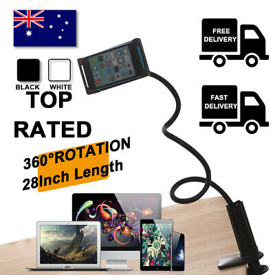 AU13.59 • Buy 360°Rotating Tablet Stand Holder Lazy Bed Desk Mount For IPad Air IPhone Samsung