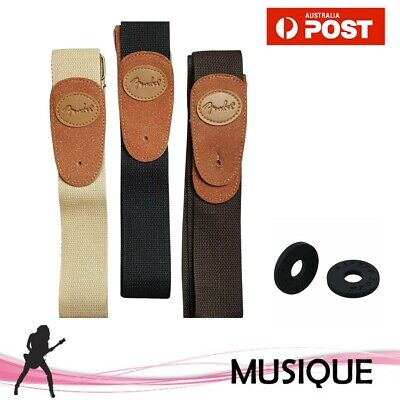 AU9 • Buy Adjustable Guitar Strap For Acoustic Classical Electric Bass Guitar With Locks