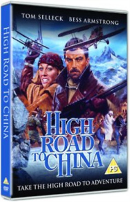 Tom Selleck, Bess Armstrong-High Road To China DVD NEW • 13.43£