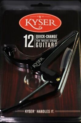 $ CDN26.36 • Buy Kyser KG12B 12 String Guitar Capo Black