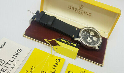 £6950 • Buy Rare 1969 Breitling Navitimer Chronograph 806 Man's Watch Box ,papers & Tag