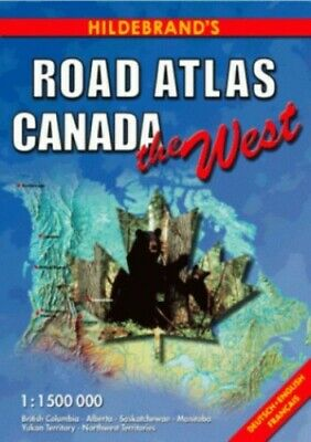 £13.99 • Buy Canada Road Atlas: The West (USA & Canada - Road Atlases) Sheet Map, Folded Book