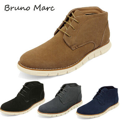 $33.99 • Buy Bruno Marc Men's Suede Chukka Boots Lace Up Dress Casual Business Ankle Boots