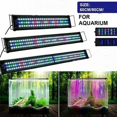 AU49.95 • Buy Aquarium Light LED Lighting 60 90 120 2ft 3ft 4ft Aqua Plant Fish Tank Bar Lamp