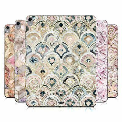 MICKLYN LE FEUVRE MARBLE PATTERNS GLOSSY VINYL STICKER SKIN DECAL FOR APPLE IPAD • 14.95£