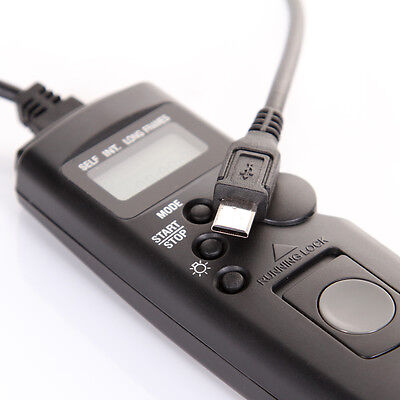 AU21.89 • Buy Timer Remote Control Socket Shutter Release+Cable For SONY Alpha A7 A7R A6000