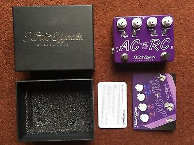 Xotic AC/RC-OZ Oz Noy Limited Edition Boost Overdrive Guitar Effect Pedal • 200£