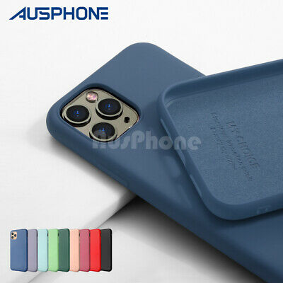 AU7.95 • Buy Shockproof Liquid Silicone Thin Cover Soft Slim Case For IPhone 11 Pro XS MAX XR