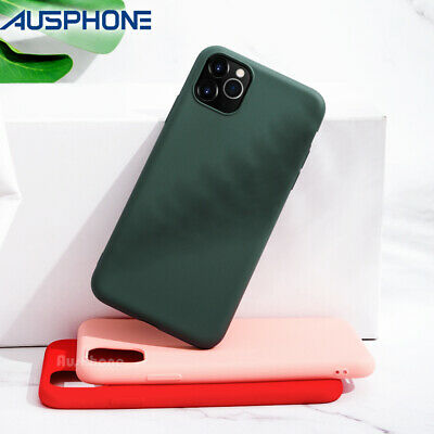 AU8.95 • Buy Shockproof Liquid Silicone Cover Soft Slim Case For IPhone 11 Pro XS/X MAX XR