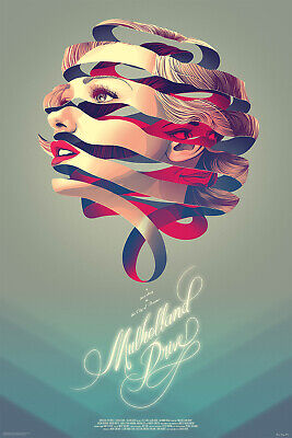 £2155.64 • Buy Mulholland Drive By Kevin Tong - Variant - Sold Out Mondo Print