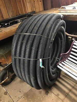 Perforated Pipe Coil  Drainage 80mm X 100metre Land Drain • 140£