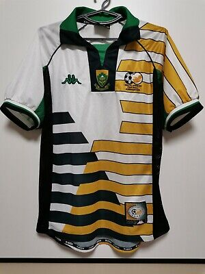 £150 • Buy SIZE M South AFRICA 1998-1999  HOME FOOTBALL SHIRT JERSEY KAPPA