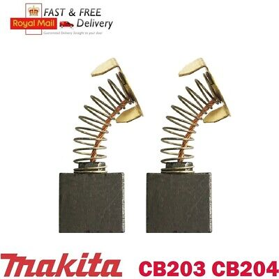 Carbon Brushes For Makita Angle Grinder CB204 CB-204 GA9050 GA9067 9069 191957-7 • 2.99£