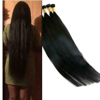 £129.99 • Buy 100% Peruvian Virgin Human Hair Weft 12aa Unprocessed 100g 8 To 34inch Fast Ship