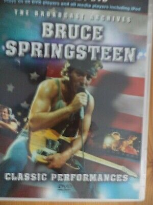 Bruce Springsteen Classic Performances Dvd-uk. Free Post. • 6.85£