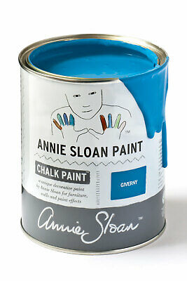 Annie Sloan Paint 1 X Large- 1 Litre Tin Of Giverny - Rich On Trend Blue!! • 39£