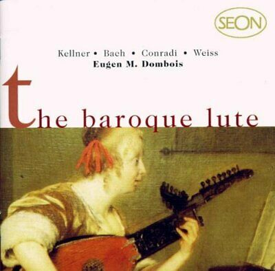 Eugen Dombois M - The Baroque Lute - Eugen Dombois M CD QHLN The Cheap Fast Free • 9.25£