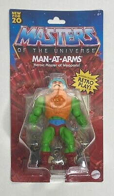 $27.99 • Buy Brand New 2020 Masters Of The Universe Man-AT-ARMS Master Of Weapons.