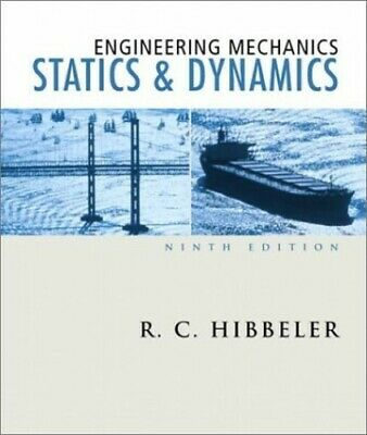 Engineering Mechanics: Statics And Dynamics By Hibbeler, Russell C. Hardback The • 35.99£