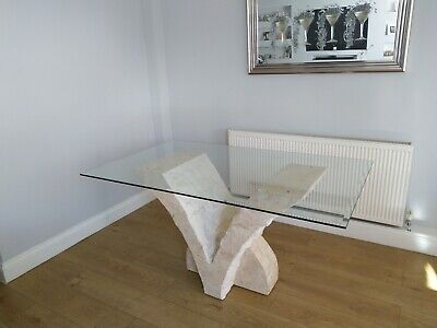 Mactan Stone Dining Table Excellent Condition Only Brought For Show • 380£