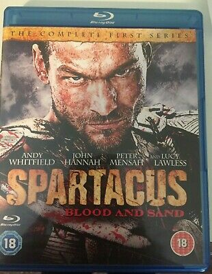 Spartacus - Blood And Sand: Series 1 Blu-ray (2011) Andy Whitfield • 4.40£