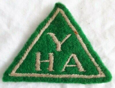 Youth Hostel Association (YHA) Vintage Fabric Sew On Patch/Badge 1950s • 19.99£