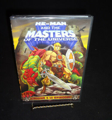 $14.69 • Buy  He-Man And The Masters Of The Universe DVD Movie Origins 10 Episodes